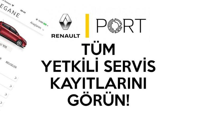 Renault PORT Uygulaması